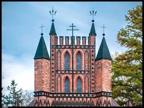 Photo: Hof- und Landbaumeister JOHANN GEORG BARCA (1781 – 1826) war der Architekt der im Jahre 1809 geweihten Kirche St. Helena in Ludwigslust.