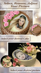 Personalizing Birthday Cake with Name & Photo - náhled