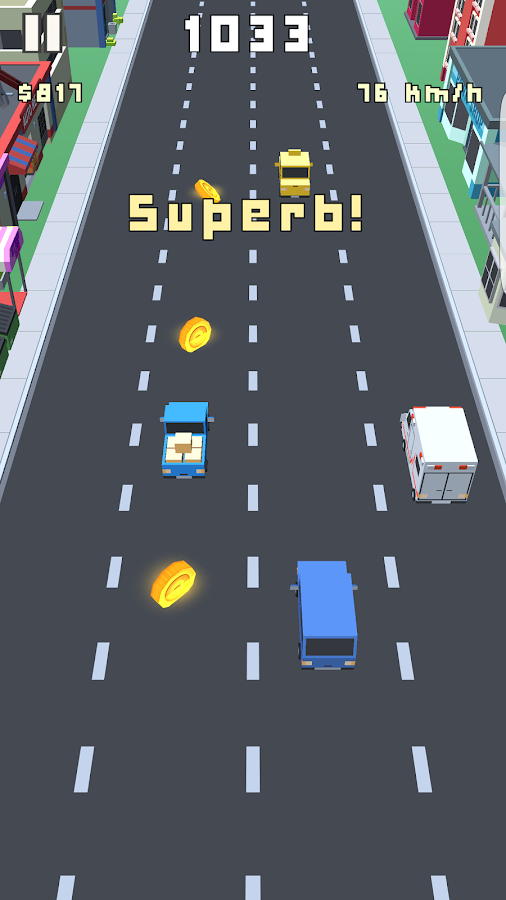Blocky Rider- screenshot