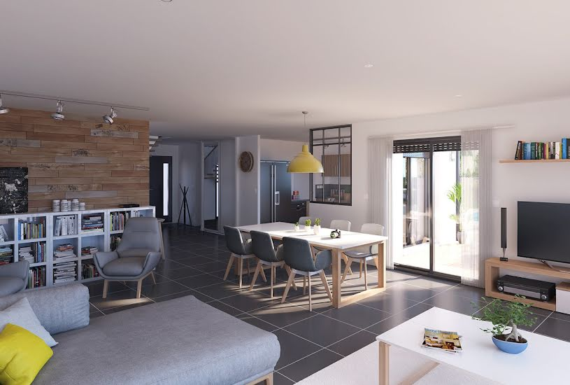 Vente Terrain + Maison - Terrain : 1000m² - Maison : 162m² à Saint-Mars-de-Coutais (44680)