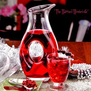 Cranberry Pomegranate Cocktails.