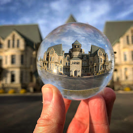 Ohio State Reformatory by Ryan Niemiec - Instagram & Mobile iPhone ( shawshank prison )