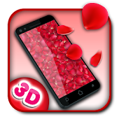 3D Flower Petal Live Wallpaper