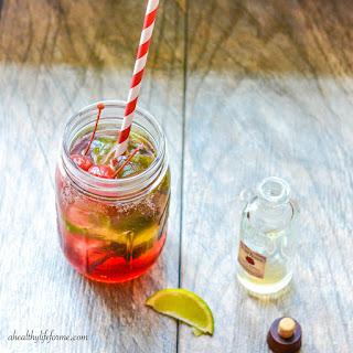 Tart Cherry Pomegranate Bourbon Cocktail
