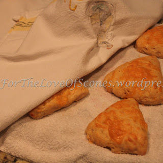 Cheddar, Parmesan, and Cracked Pepper Scones