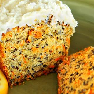 Wild Rice and Carrot Tea Cake