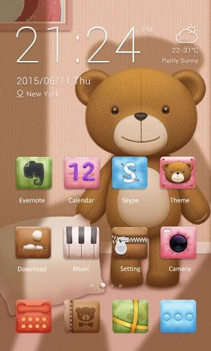 Teddy Theme - ZERO Launcher