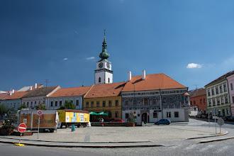 """Photo: Narożny dom w stylu renesansowym """"Malovaný dům"""""""