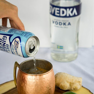 Apple Cider Moscow Mule.