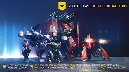 Code Triche War Robots. PvP Multi-joueur APK MOD (Astuce) screenshots 1