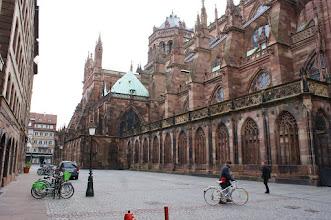 Photo: Catedral de de Notre-Dame d'Estrasburg, construïda entre entre el 1015 i el 1439.