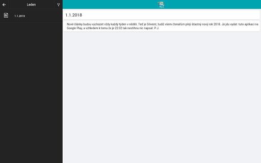 Pu00e1ju016fv blog 1.1.1 screenshots 5