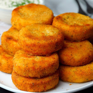 Cheesy Mashed Potato Dippers Recipe