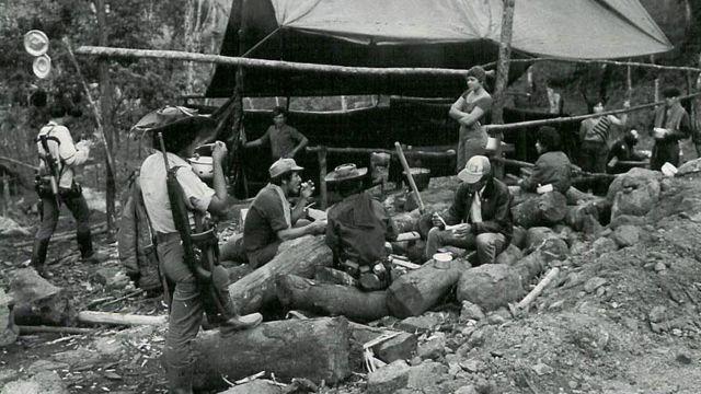 En fotos: las FARC en blanco y negro - BBC News Mundo