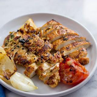 Mediterranean Grilled Chicken Breasts.