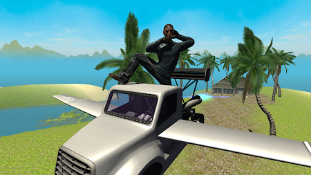 Flying Car Free: Truck Pilot 4 screenshot 711579