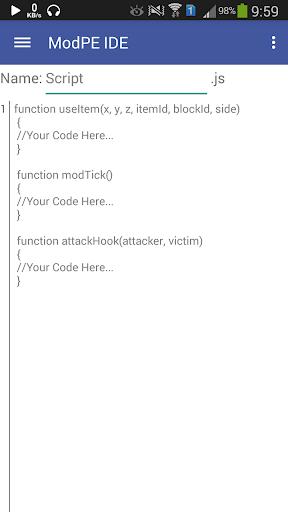 ModPE IDE™