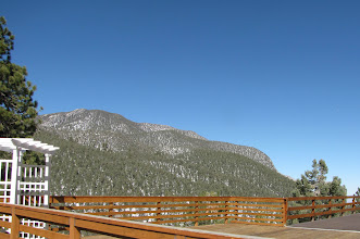 Photo: View from deck of the Lodge