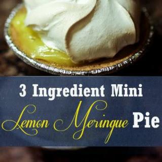 Lemon Meringue Pie No Butter Recipes