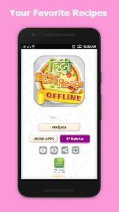 Hindi Recipes Book offline App - náhled