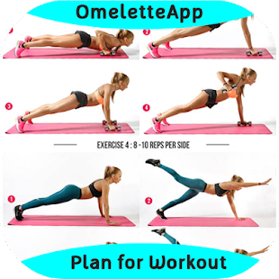Plan for Workout - náhled
