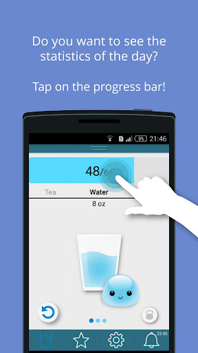 Water Timeud83dudca7Drink reminder app, water diet tracker  screenshots 3