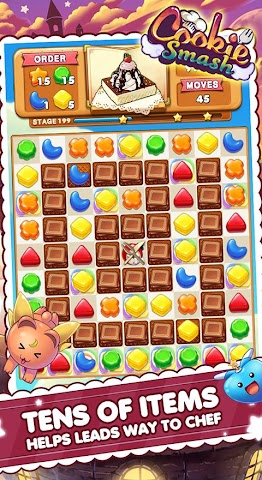 android Cookie Smash Screenshot 0
