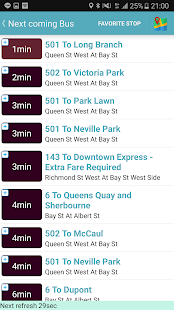 Toronto Bus Tracker (TTC) - náhled