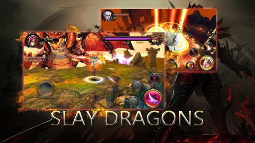 Dragons War Legends - Raid shadow dungeons  captures d'u00e9cran 1