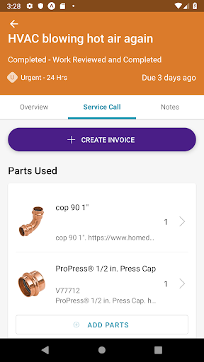 Screenshot for OpenWrench Service Manager in United States Play Store