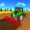 Real Tractor Farmer games 2019 : New Farming Games icon