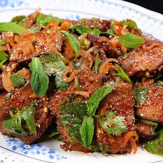 Thai Beef Salad, Nam Tok.