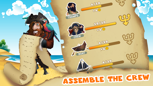 Pirate Henry Four Fingers. Clicker games cheat screenshots 2