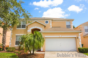 Kissimmee villa, close to Disney, gated community, private pool, woodland view, games room