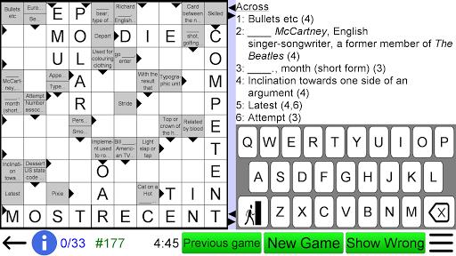 Arrow Crossword screenshots 8