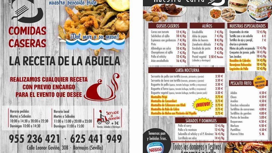 La Receta De La Abuela Restaurante De Comida Casera En Bormujos