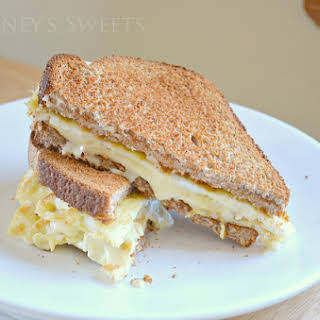 Grilled Cheese Egg Sandwich.