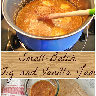 Small-Batch Fig and Vanilla Jam
