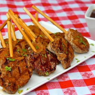 Smithfield Pork Tenderloin Lollipops with Soy-Ginger Dipping Sauce Recipe