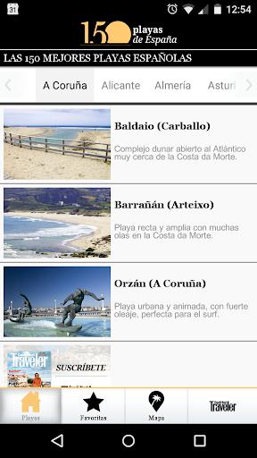 Traveler. 150 playas de España