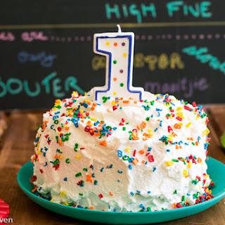 Healthy Smash Cake.