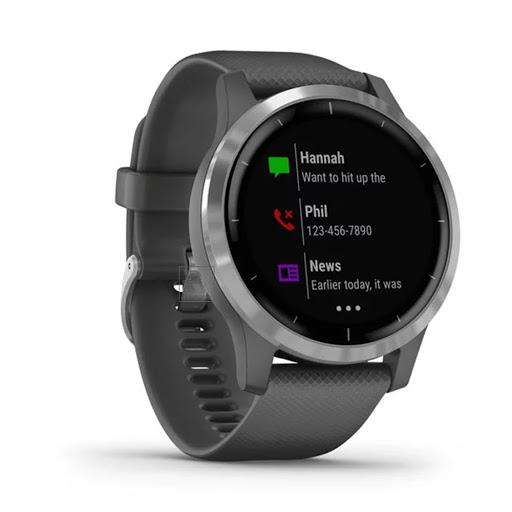 Garmin Vivoactive 4, GPS, Wi-Fi, Shadow GraySilver, SEA_010-02174-09_3.jpg