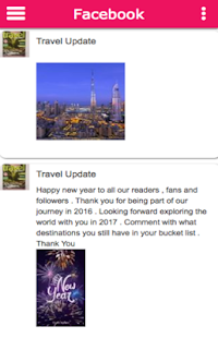 Travel Update- screenshot thumbnail