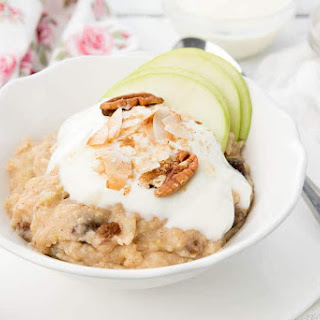 Thermomix Apple Pie Porridge or Apple Pie Oatmeal?.