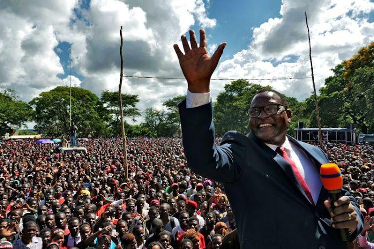 Malawi's new President Lazarus Chakwera./REUTERS