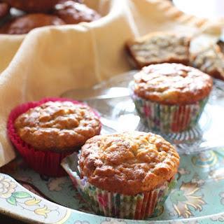 Banana Pecan Oat Muffins Recipes