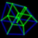 4D Hypercube Live Wallpaper icon