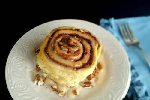 """Sinful Cinnamon Rolls""""I made these yesterday, and they are like the title,..."""