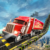 American Truck Simulator On Impossible Sky Tracks (Unreleased)