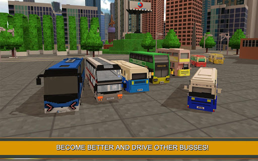 Coach Bus Simulator Craft 1.6 screenshots 4